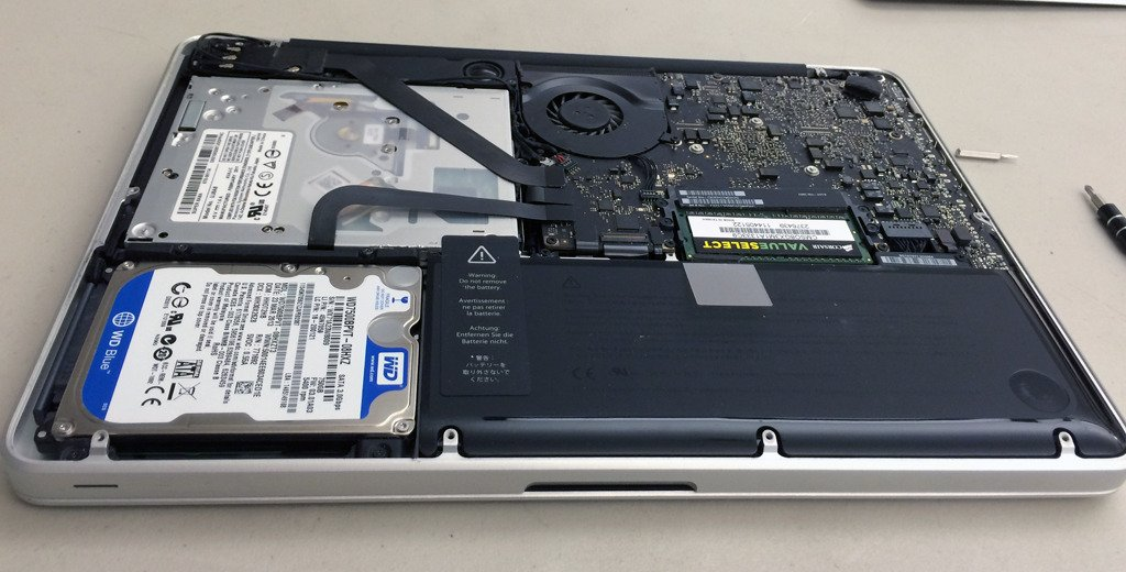 Hard Disk replacement macbook