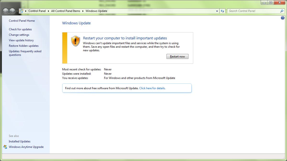 Install Updates Computer