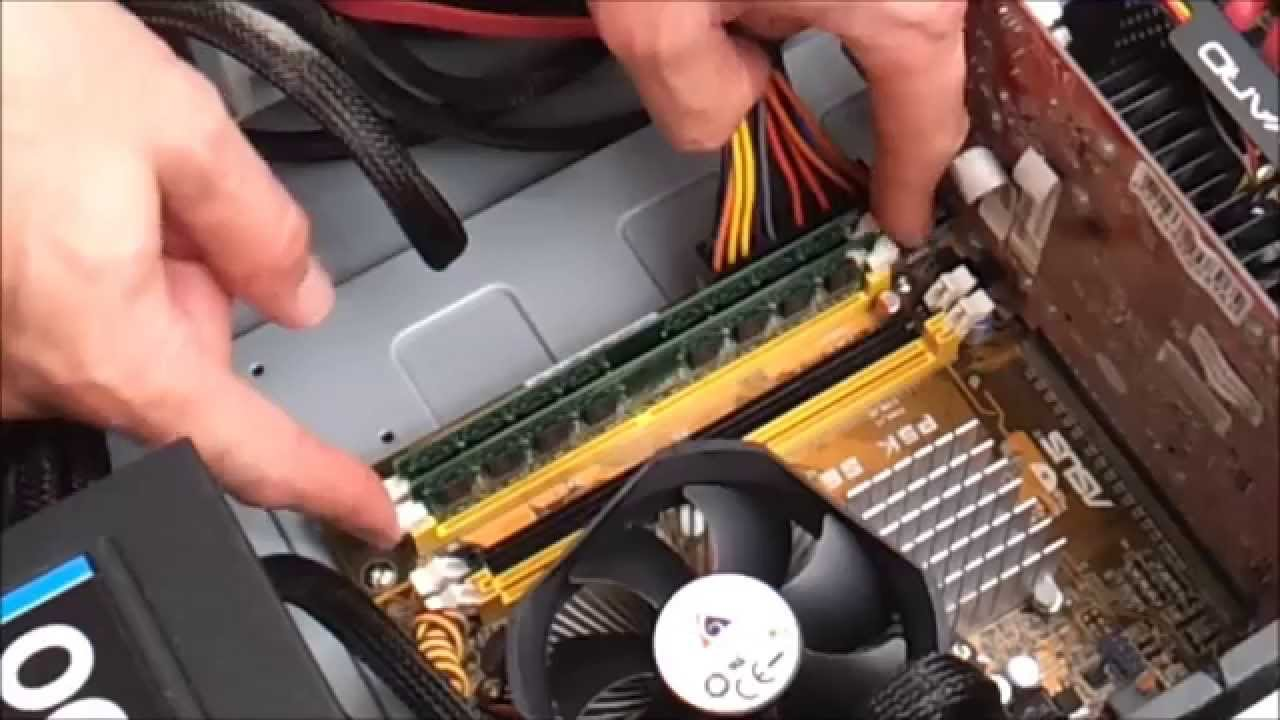 Installing more RAM Computer