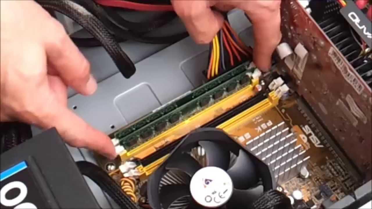 Installing More RAM Computer