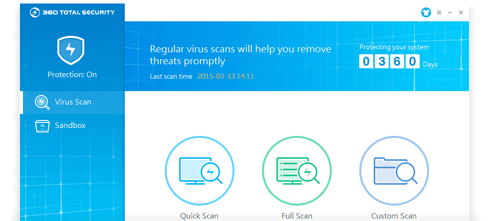 Regular Virus Scans